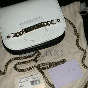 Jimmy Choo Shadow Crosbody 100%Authentic